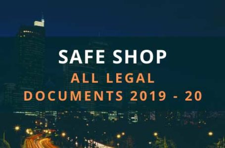 Safe Shop All Legal Documents Download 2020 Safe Shop All Certificate