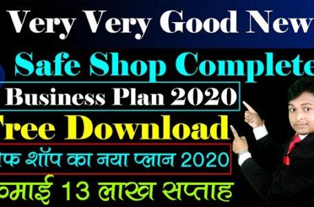 Safe Shop Latest Business Plan Free Download