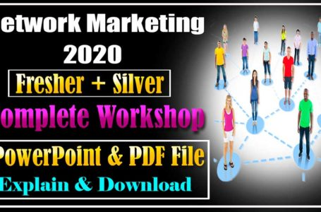 Network Marketing in Hindi Complete Workshop PowerPoint File Download