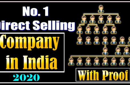 India No 1 direct Selling company 2020