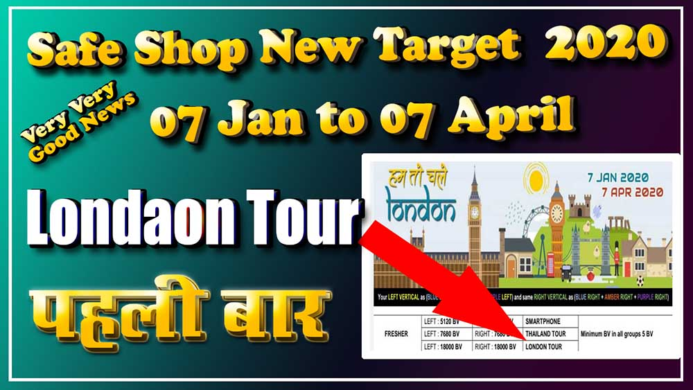 Safe Shop New Targe 2020 07 January to 07 April 2020