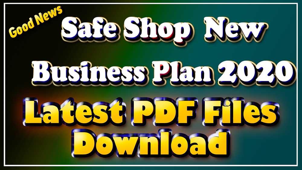 Safe Shop Plan pdf Download Safe Shop Plan Latest 2020