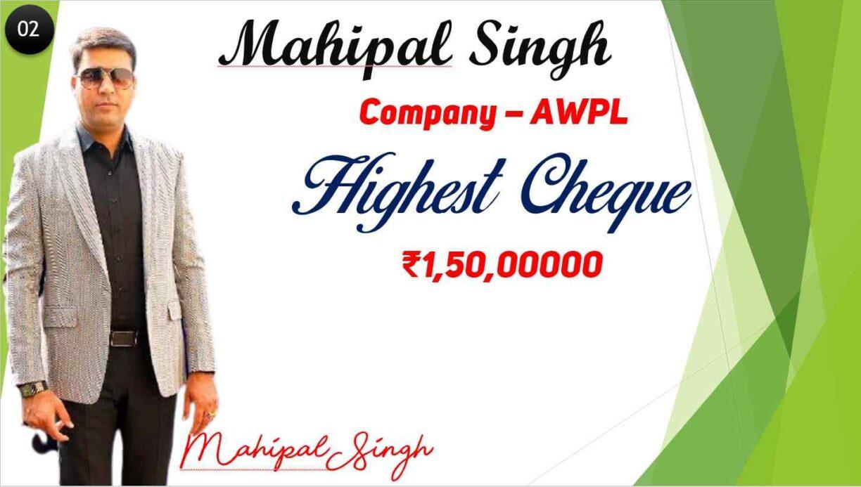mahipal singh ramveer singh shiv kumar ( AWPL ) यानी कि Asclepius Wellness Private Limited