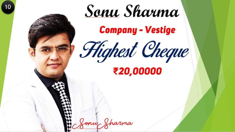 Sonu Sharma sir vestige